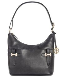 Giani Bernini - Black Bridle Leather Hobo, Created For Macy's - Lyst