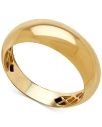 Macy's - Metallic Polished Domed Ring In 14k Gold - Lyst