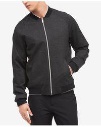 CALVIN KLEIN 205W39NYC - Gray Men's Zip-front Jacket for Men - Lyst