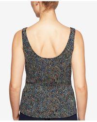 Alex Evenings - Blue Petite Glitter Jacquard Jacket & Shell - Lyst