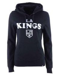 47 Brand Black Los Angeles Kings Headline Hoodie