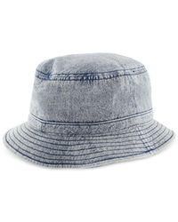 Adidas - Blue Originals Denim Bucket Hat for Men - Lyst