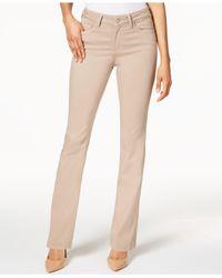 NYDJ - Multicolor Marilyn Tummy-control Straight-leg Jeans - Lyst