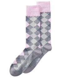 Alfani - Gray Diamond Socks, Created For Macy's for Men - Lyst