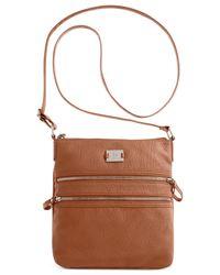 Style & Co. | Brown Veronica Crossbody | Lyst