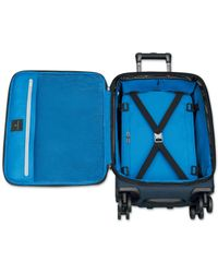 """Victorinox - Blue Werks Traveler 5.0 20"""" Carry-on Dual Caster Spinner Suitcase for Men - Lyst"""