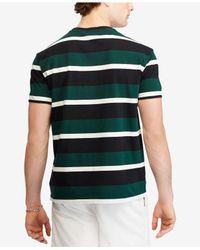 Polo Ralph Lauren - Green Stripe Short-sleeve Tee for Men - Lyst