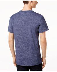G-Star RAW - Blue Men's Pocket T-shirt for Men - Lyst