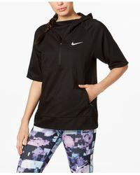 Nike - Black Flex Water-repellent Short-sleeve Running Jacket - Lyst