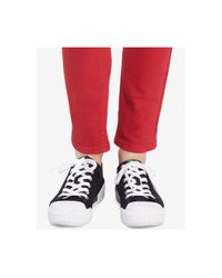 Calvin Klein - Red Skinny Ankle Jeans - Lyst