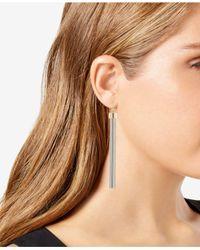 Trina Turk - Metallic Two-tone Tassel Linear Drop Earrings - Lyst