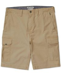Billabong   Natural Men's Scheme Classic-fit Cargo Shorts for Men   Lyst