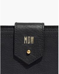 Madewell - Black The Post Wallet - Lyst