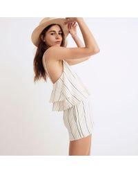 Madewell - Multicolor Tavik® Faithful Cover-up Romper In Horizon Stripe - Lyst