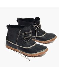 Madewell - Black Sorel® Out And About Boots - Lyst