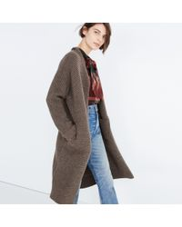 Madewell | Multicolor Fulton Sweater-coat | Lyst