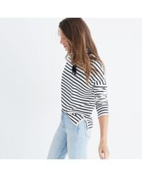 Madewell - Multicolor Sailor Stripe Turtleneck Top - Lyst