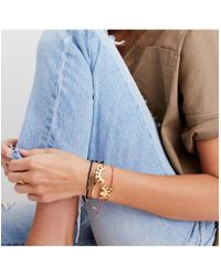 Madewell - Metallic Looker Hinge Cuff Bracelet - Lyst