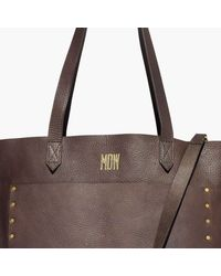 Madewell - Multicolor The Medium Transport Tote: Studded Edition - Lyst