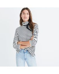 Madewell - Multicolor Sailor Stripe Turtleneck Top - Lyst