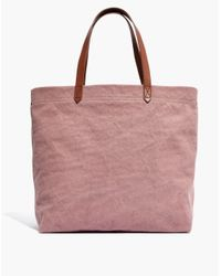 Madewell - Multicolor The Canvas Transport Tote - Lyst