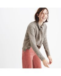 Madewell - Multicolor Scarf Sweater Set - Lyst
