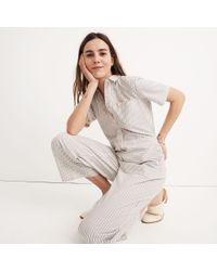 Madewell - Multicolor Striped Utility Jumpsuit - Lyst