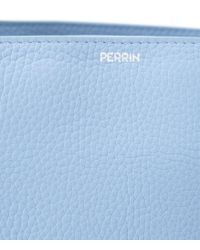 PERRIN Paris - Blue Zipped Shoulder Bag - Lyst