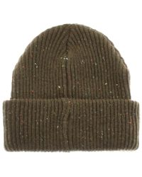 Penfield - Harris Beanie Hat Green for Men - Lyst