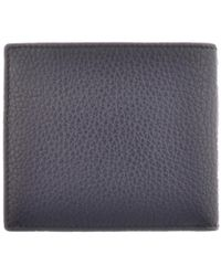 Vivienne Westwood - Leather Wallet Blue for Men - Lyst