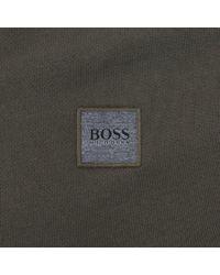BOSS Orange | Full Zip Ztadium Hoodie Green for Men | Lyst