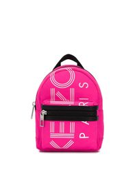 KENZO Multicolor Logo Mini Backpack for men