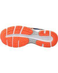 Asics - Gel Pulse 9 Neutral Running Shoes Dark Blue/shocking Orange/victoria Blue for Men - Lyst
