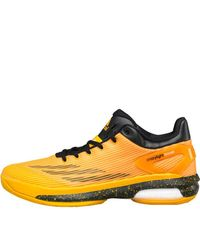 half off 8002a f3257 Mens Orange Crazylight Boost Low Basketball Shoes ...