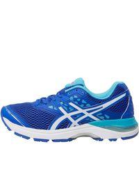 Asics - Gel Pulse 9 Neutral Running Shoes Blue Purple/white/aquarium - Lyst