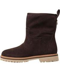 Timberland - Chamonix Valley Waterproof Winter Boots Dark Brown - Lyst