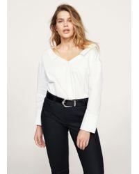 Violeta by Mango - Black Coated Slim-fit Carmen Jeans - Lyst