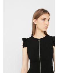 Mango - Black Dress - Lyst