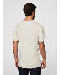 Mango - Multicolor Printed Cotton Shirt for Men - Lyst