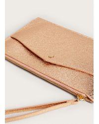 Mango - Multicolor Metallic Cosmetic Bag - Lyst