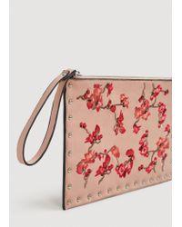 Mango - Pink Cosmetic Bag G-- - Lyst