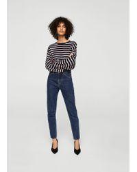 Mango - Blue Sweater - Lyst