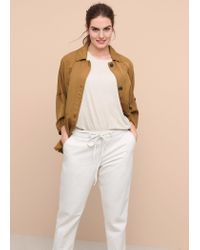 Violeta by Mango - Multicolor Chino-fit Surijeans - Lyst