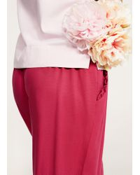 Violeta by Mango - Red Trousers - Lyst
