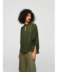 Mango | Green Shirt | Lyst