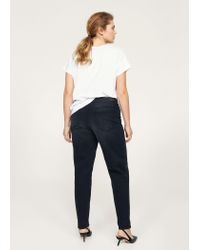 Violeta by Mango - Multicolor Relaxed Ely Jeans - Lyst
