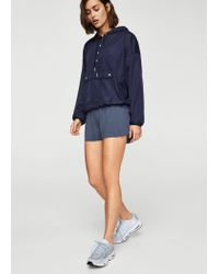 Mango - Blue Shorts - Lyst