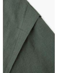 Mango - Multicolor Oversize Linen Jacket - Lyst