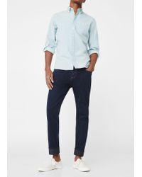 Mango - Blue Slim-fit Navy Patrick Jeans for Men - Lyst