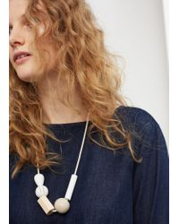 Violeta by Mango | Blue Zip Denim Dress | Lyst